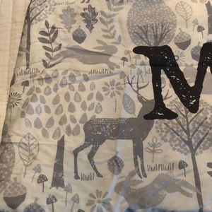 carousel Other - Personalized crib sheet